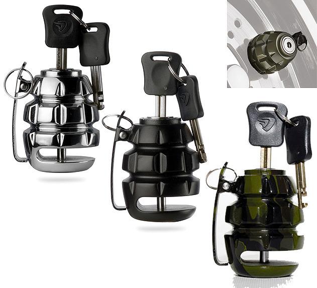 antivol bloque disque grenade noir road 39 n 39 roll. Black Bedroom Furniture Sets. Home Design Ideas